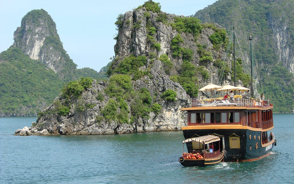 Les baies du nord du Vietnam, sûrement les plus belles du pays