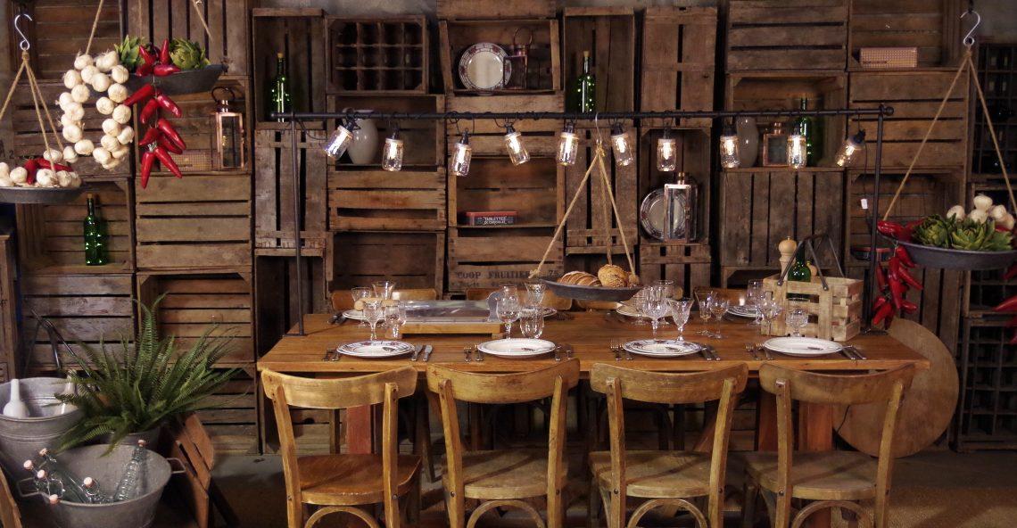Choisissez la location de mobilier design pour un mariage réussi